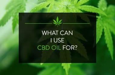 What can I use CBD oil for?