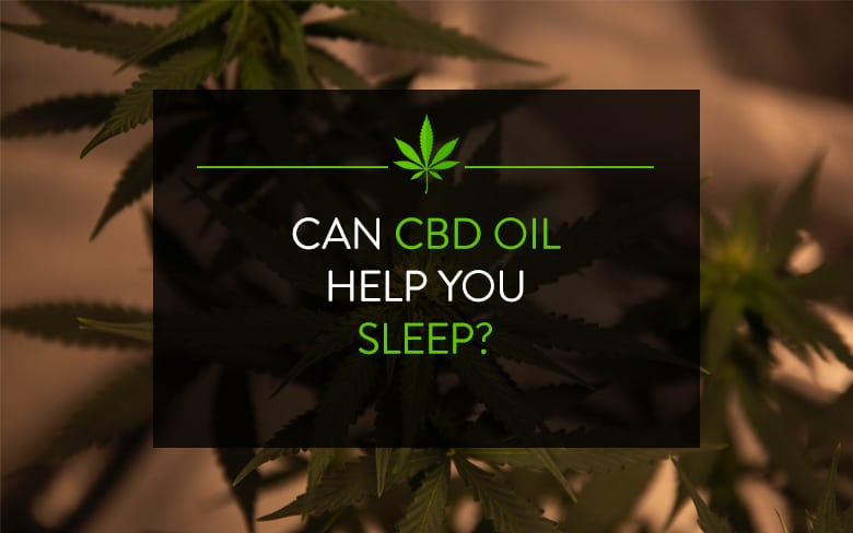 Can CBD Oil Help You Sleep