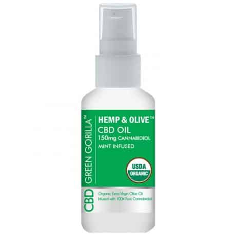 Hemp Olive Pure CBD Oil Spray