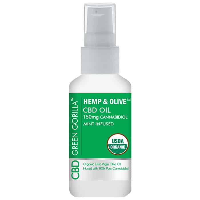Hemp Olive Pure CBD Oil Spray