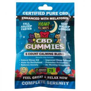 Hemp Bomb CBD Sleep Gummies with Melatonin