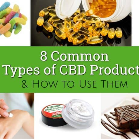 8 Common Types of CBD Products