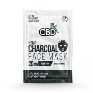CBDfx CBD Hemp Face Mask - Charcoal