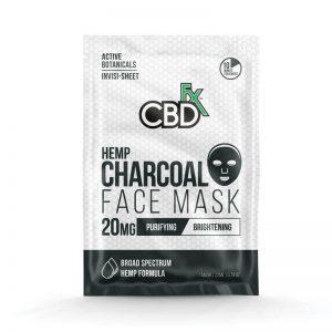 CBDfx CBD Hemp Face Mask - Charcoal