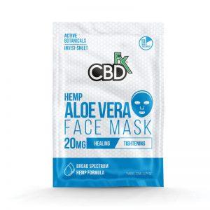 CBDfx CBD Aloe Vera Face Mask – 20mg