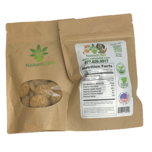 NakedCBD Pet Biscuit Treats 10mg
