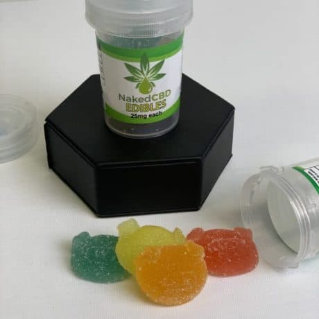NakedCBD 100mg CBD Piggies (4x 25mg)