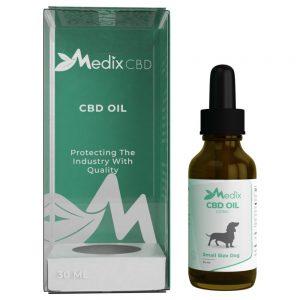 Medix CBD Oil for Small Dogs – Bacon Flavor (100 MG)