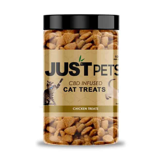 JUSTPets CBD Infused Cat Treats