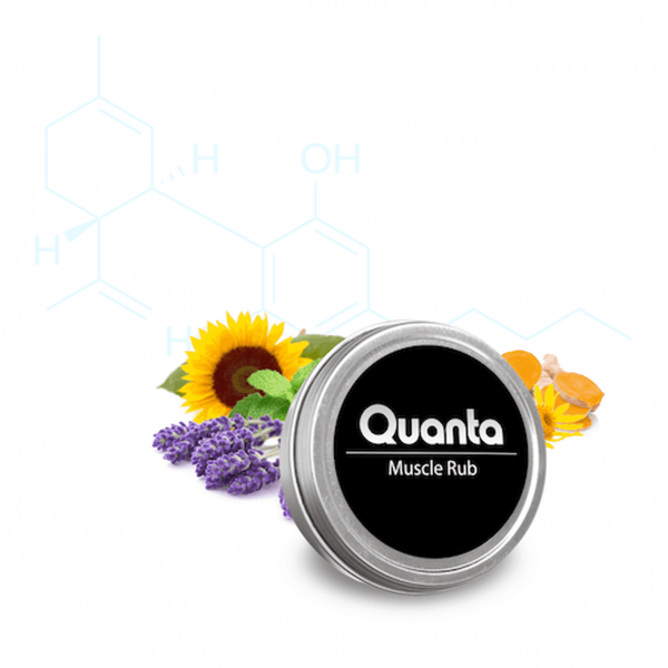Quanta CBD 150 MG CBD Muscle Rub (1 oz Tin)