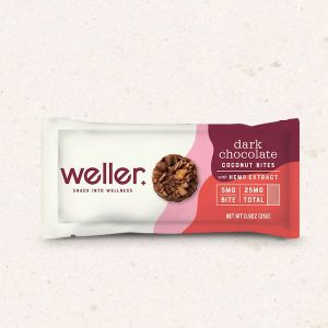 Weller Dark Chocolate Coconut Bites