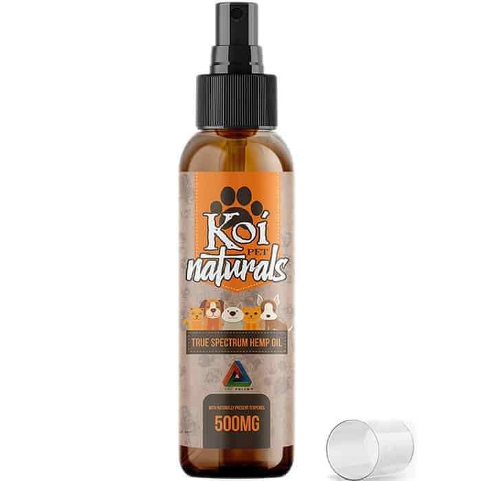Koi Full Spectrum CBD Oil Spray for Pets 500 mg