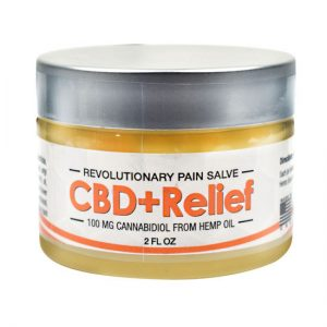 Axis Labs CBD Relief Salve, 2 oz