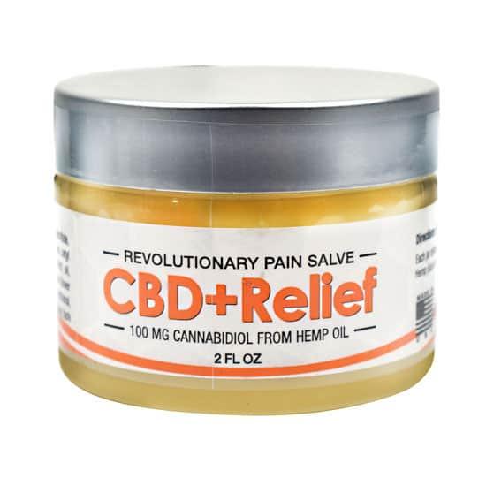 Axis Labs CBD Relief Salve, 2 oz