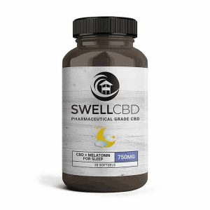 Swell CBD Softgels with Melatonin