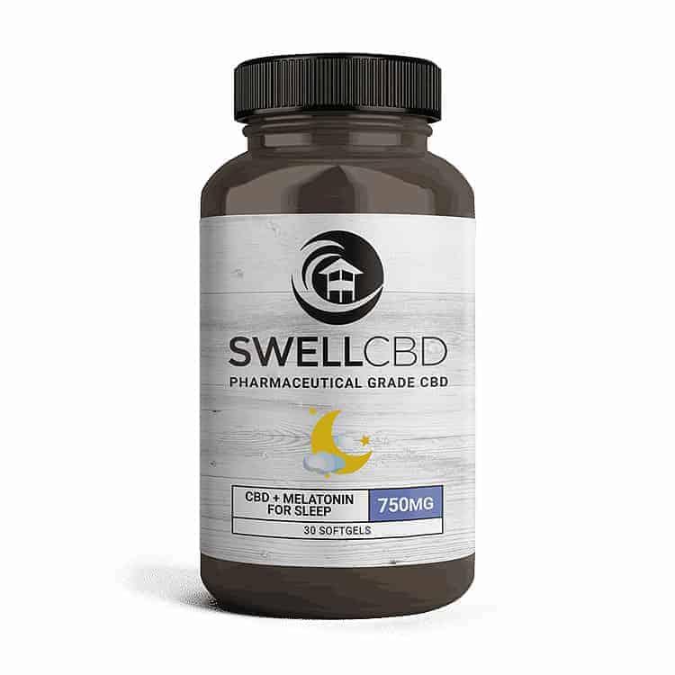 Swell CBD Softgels with Melatonin