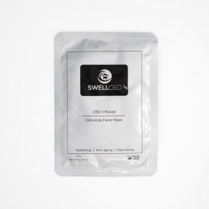 SwellCBD Cellulose CBD Face Mask