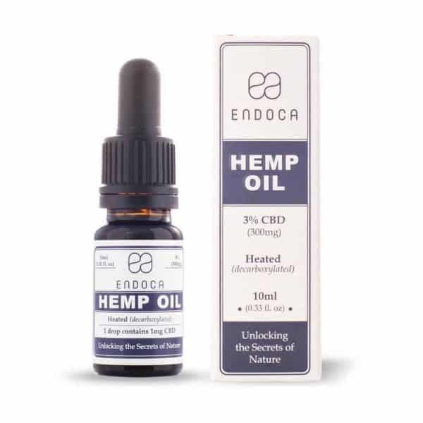 Endoca Hemp Oil Drops