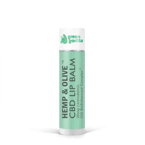 Green Gorilla CBD Lip Balm 20 mg