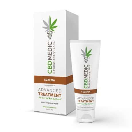 CBDMEDIC Eczema Medicated Ointment