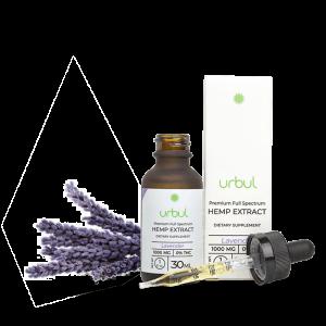 urbul lavender cbd tincture