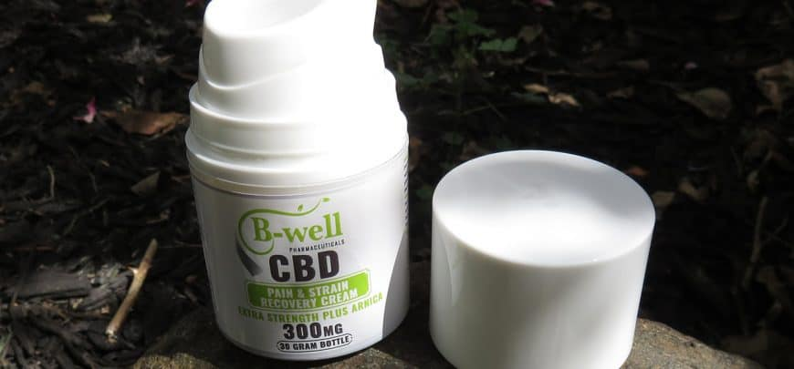 B-Well Pharmaceutical CBD Cream for Pains & Strains