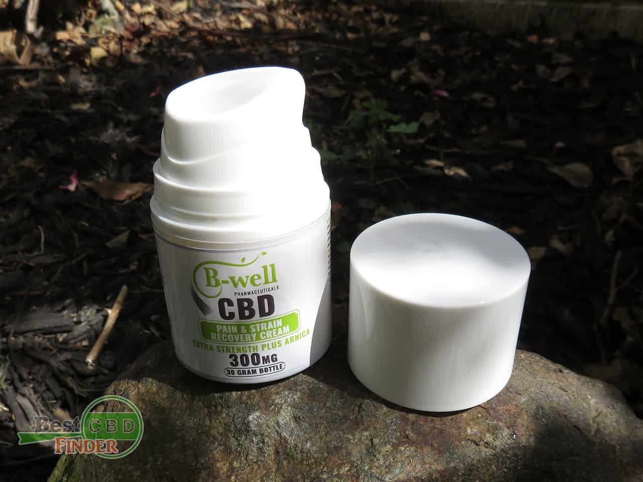 B-Well Pharmaceutical CBD Cream for Pains & Strains