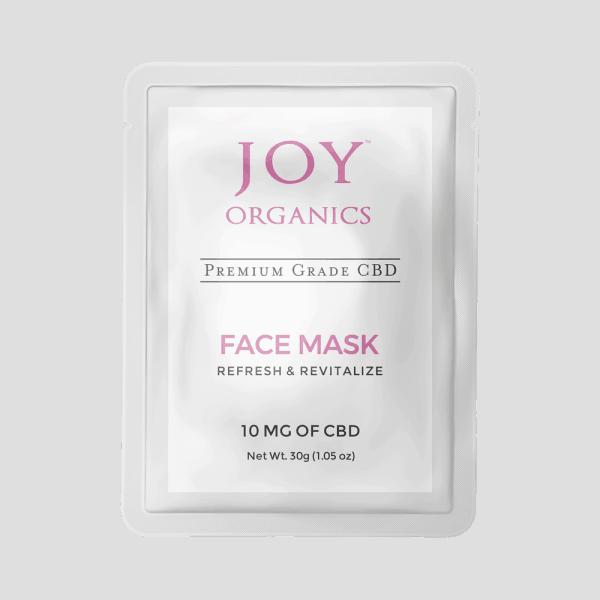 Joy Organics CBD Face Mask 10mg
