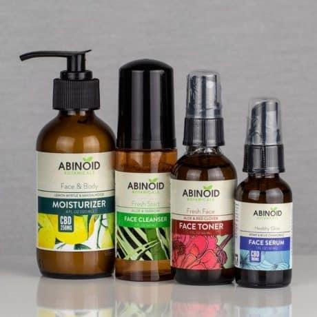 Abinoid Botanicals CBD Skin Care Kit