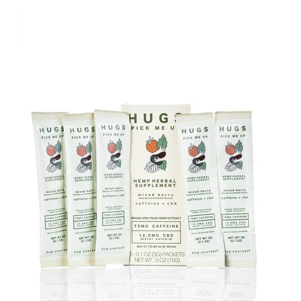 Hugs CBD Pick Me Up Drink Mix - Mixed Berry