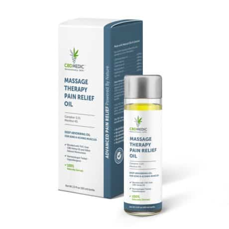 CBDMEDIC MASSAGE THERAPY Pain Relief Oil