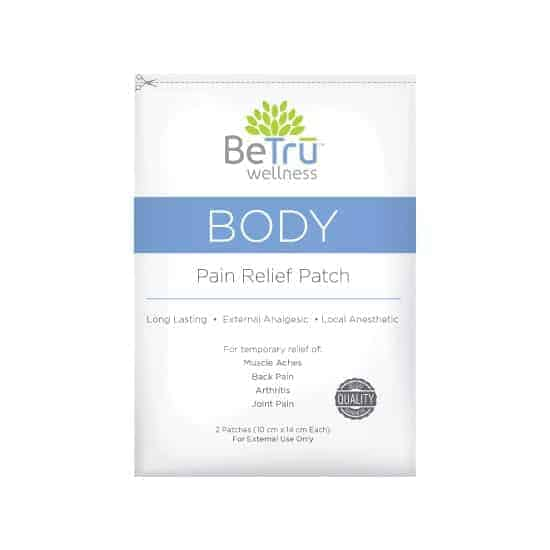 Be Trū Wellness™ BODY Pain Relief Patch