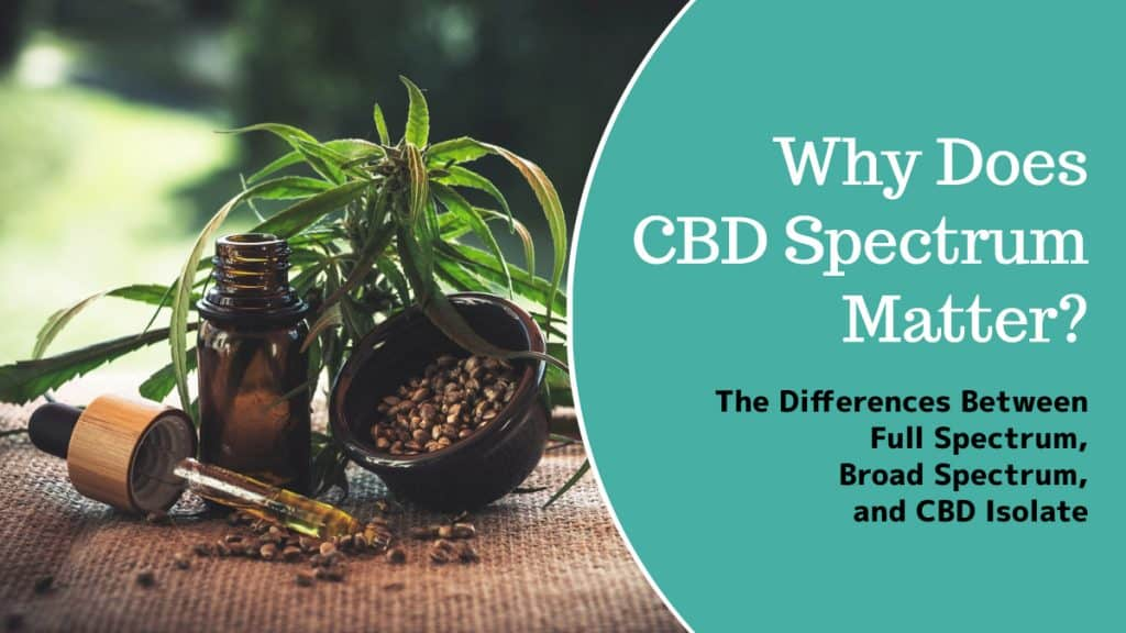 Why Does CBD Spectrum Matter? The Differences Between Full Spectrum, Broad Spectrum, and CBD Isoalte