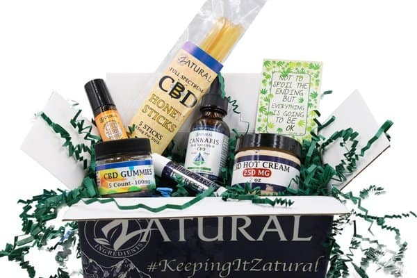 Zatural CBD Subscription Box