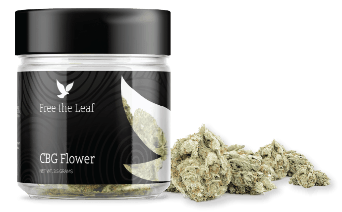 Free the Leaf CBG Flower by Green Roads