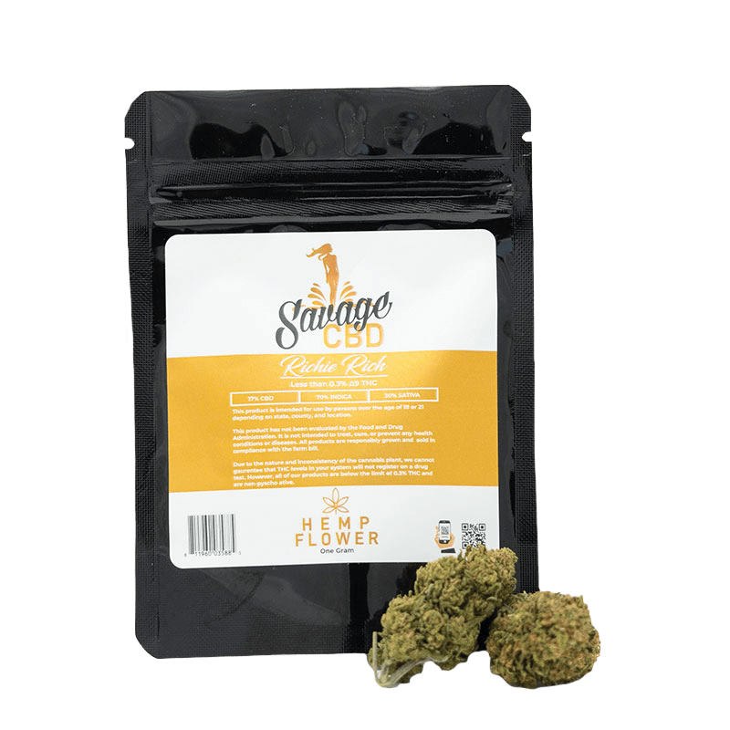 Savage CBD Richie Rich CBD Flower