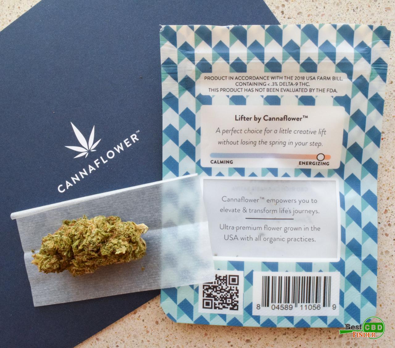 Cannaflower Review -Lifter CBD Hemp Flower