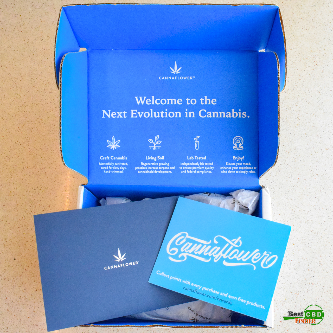 Cannaflower Review - Discovery Box