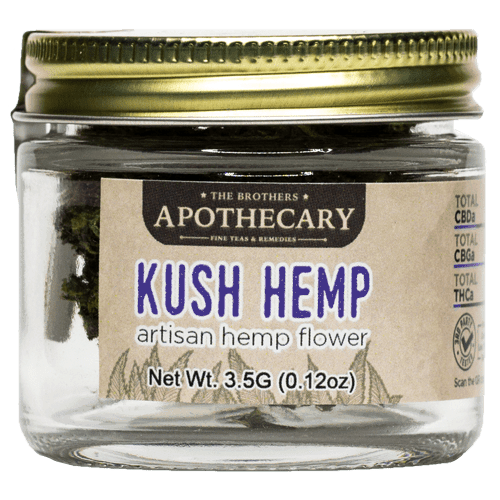 The Brothers Apothecary Kush Hemp CBD Flower
