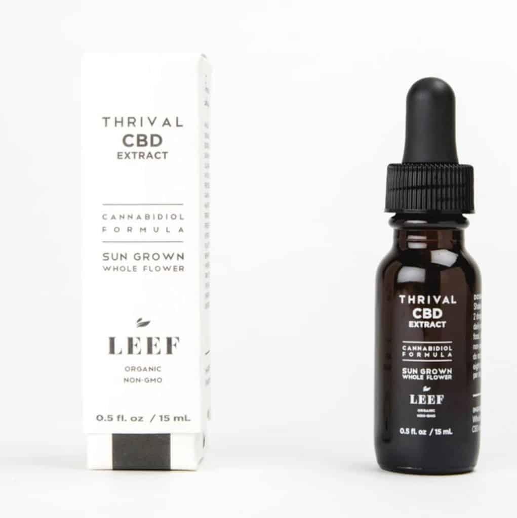 LEEF Organic THRIVAL CBD Extract