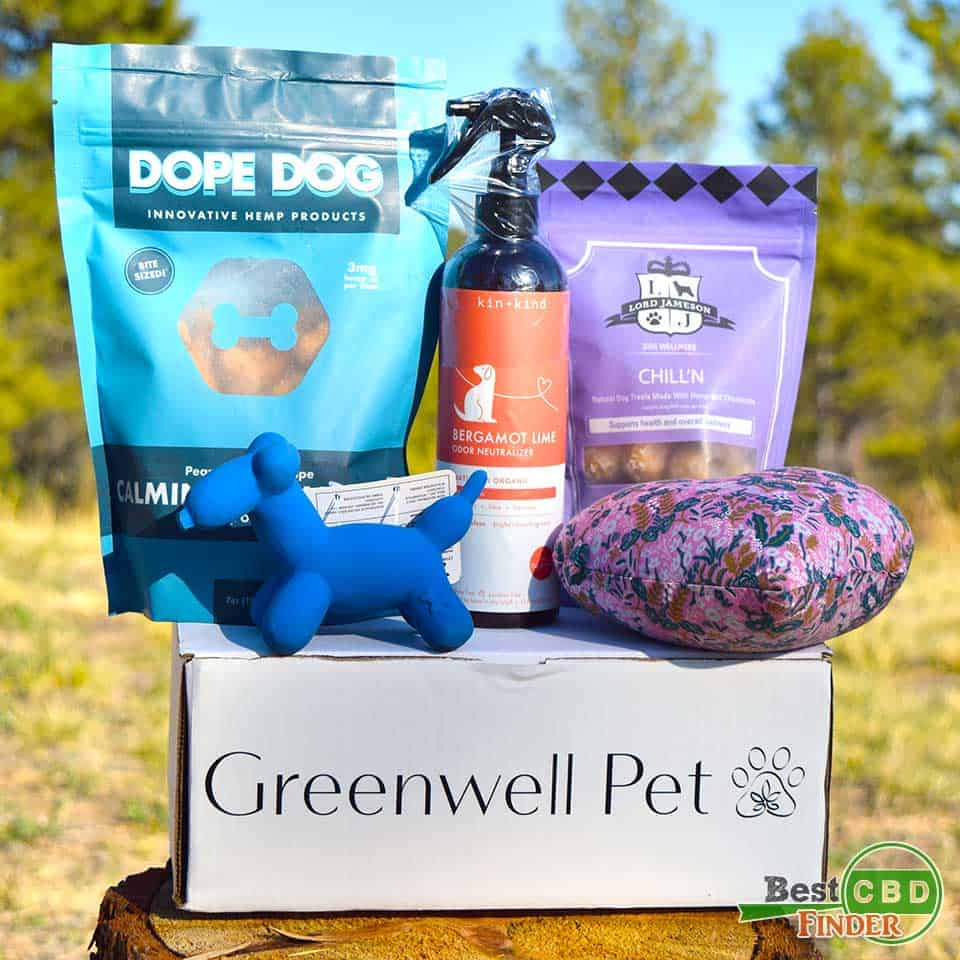 CBD Dog Products in Greenwell Pet Box Review