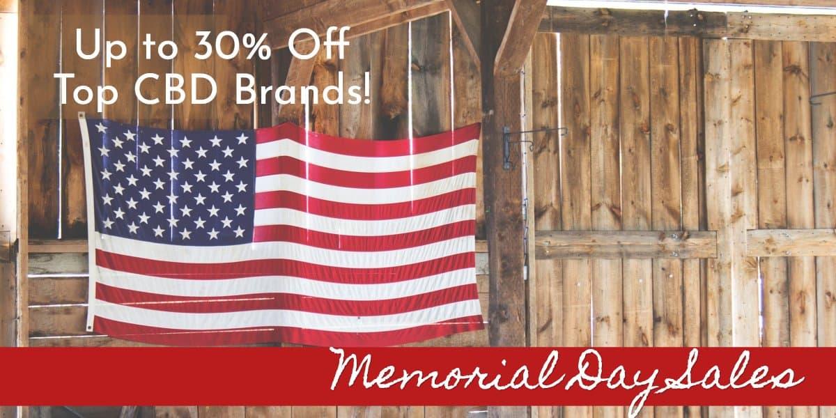 CBD Memorial Day Sales!