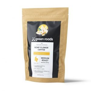 Green Roads HEMP FLOWER COFFEE, FRENCH VANILLA - 2.5OZ