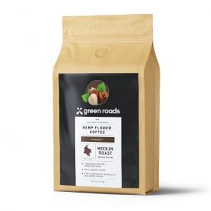Green Roads Hazelnut Hemp Flower Coffee - 12oz