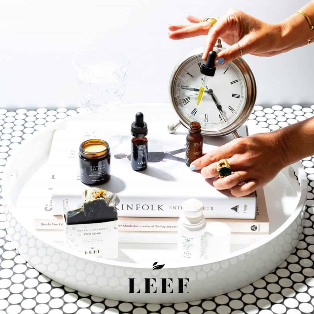 LEEF Organics CBD Review - Their CBD Products