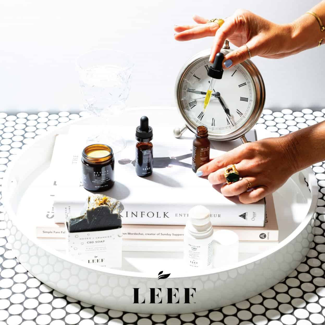 LEEF Organics CBD Review - Their CBD Products
