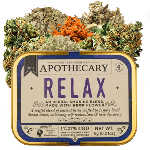 The Brothers Apothecary Relax Hemp CBD Smoking Blend