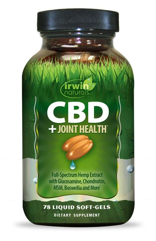 Irwin Naturals CBD +Joint Health Liquid Soft Gels