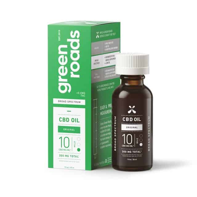 Green Roads Broad Spectrum CBD Oil – Mild, 300mg