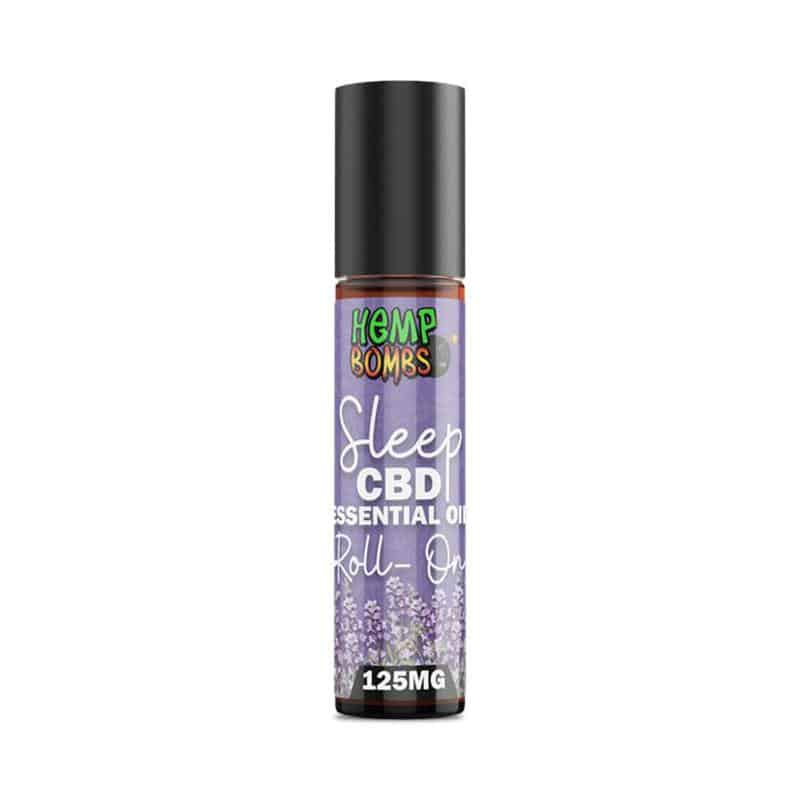 Hemp Bombs CBD Essential Oil Roll-On – Sleep Blend